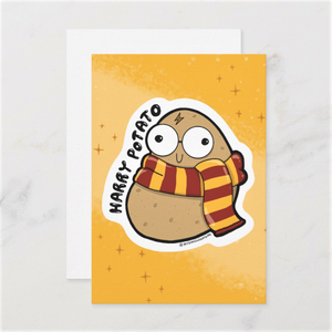 Harry Potato Postcards (Set of Two) - MyDoodlesAteMe