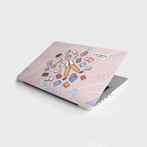 It's Not Hoarding if it's Books Laptop Skin