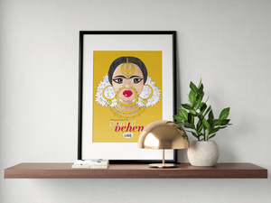 Own It Behen Wall Art - MyDoodlesAteMe