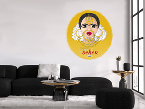 Own It Behen Vinyl Wall Decal - MyDoodlesAteMe