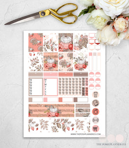 thanksgiving planner stickers