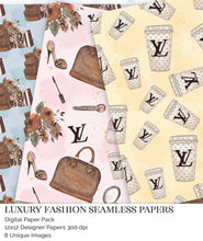 Load image into Gallery viewer, louis vuitton digital papers