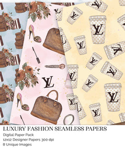 louis vuitton digital papers