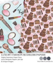 Load image into Gallery viewer, louis vuitton seamless pattern