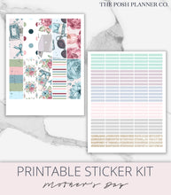 Load image into Gallery viewer, Mother's Day planner stickers