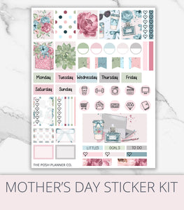 spring summer planner stickers