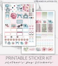 Load image into Gallery viewer, spring planner stickers