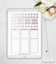 Load image into Gallery viewer, blush digital planner stickers