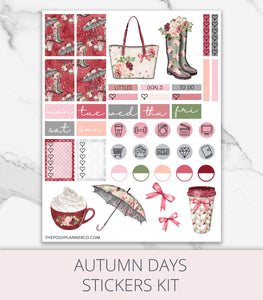 fall printable stickers