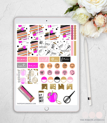 goodnotes planner stickers