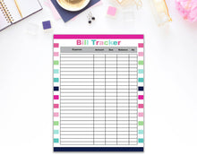 Load image into Gallery viewer, Household Printable Planner Page Set - Digital Planner Page Set Household