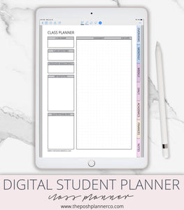 digital school planner