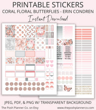 Load image into Gallery viewer, erin condren planner stickers