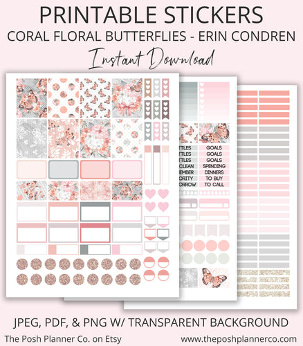 erin condren planner stickers