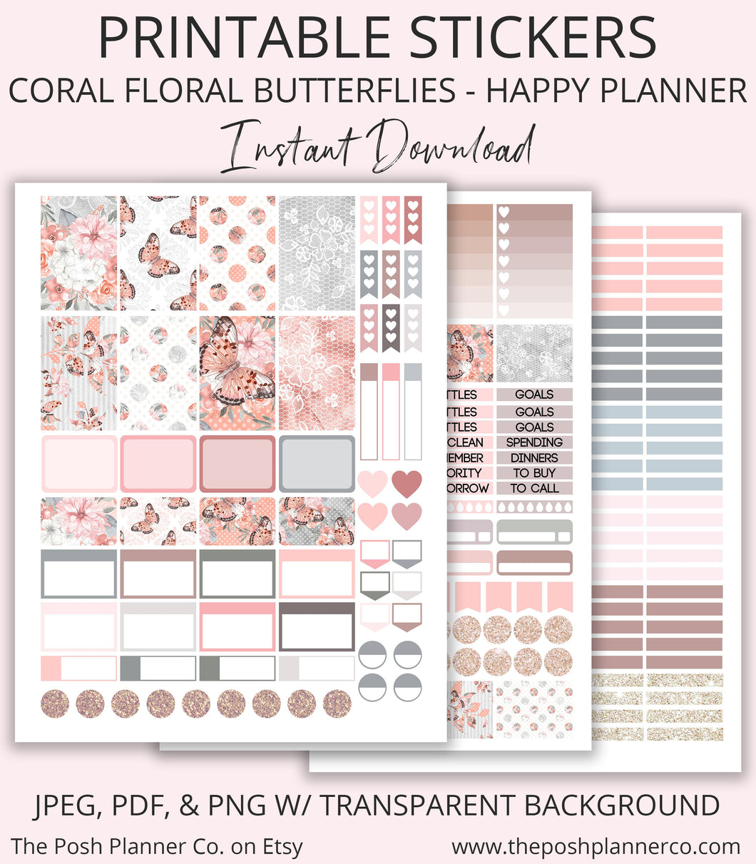 happy planner stickers