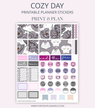 Load image into Gallery viewer, floral planner stickers