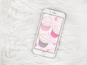 cupcakes phone wallpaper