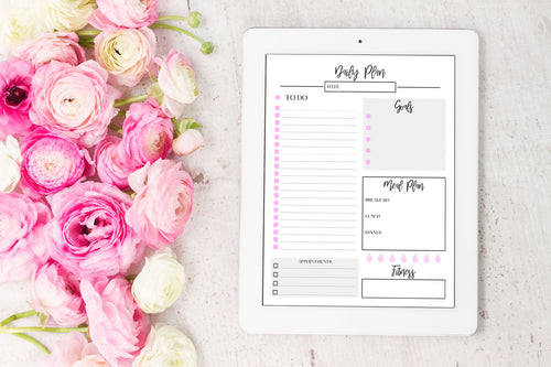 digital daily planner page