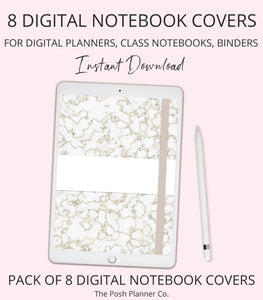 digital planner cover