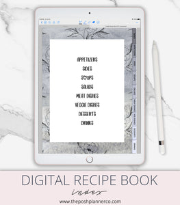 goodnotes recipe book