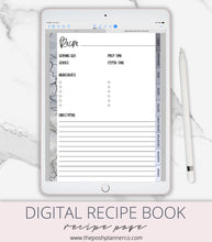 Load image into Gallery viewer, digital recipe book