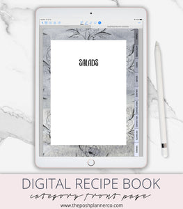 digital cook book