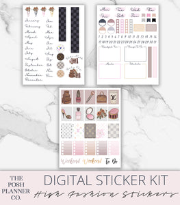 ipad planner stickers