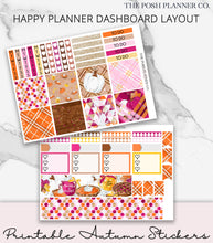 Load image into Gallery viewer, autumn planner stickers