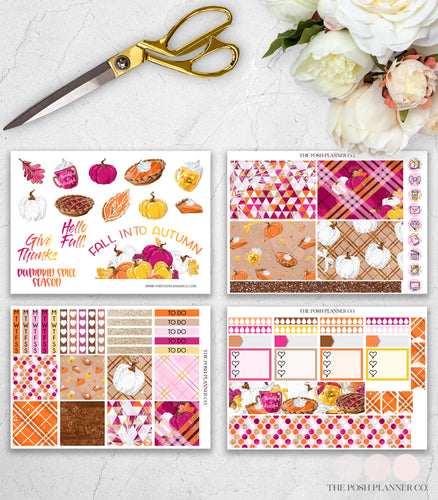 fall planner stickers