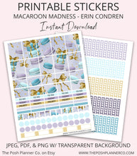 Load image into Gallery viewer, erin condren stickers
