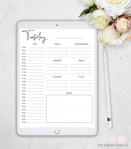 daily digital planner