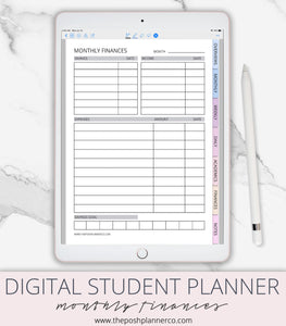 college student planner
