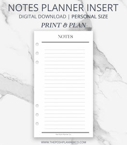 printable planner insert lv mm