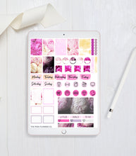 Load image into Gallery viewer, Digital Planner Stickers - iPad Planner Stickers for Goodnotes - Peony Stickers