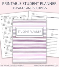 Load image into Gallery viewer, printable student planner