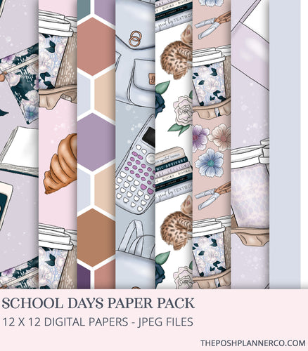 digital scrapbook paper