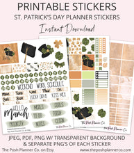 Load image into Gallery viewer, spring printable planner stickers