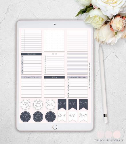 digital planner stickers