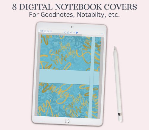 digital notebook cover