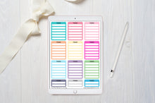 Load image into Gallery viewer, digital planner stickers