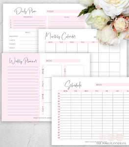 printable planner page