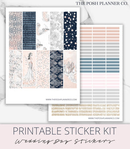 prom planner stickers