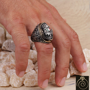Imperial Silver Men's Ring