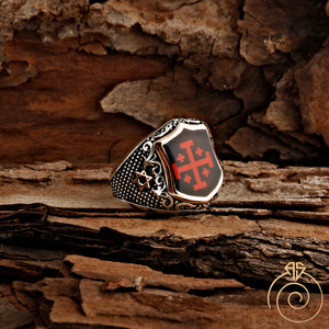 3D-enamel-unique-men's-ring