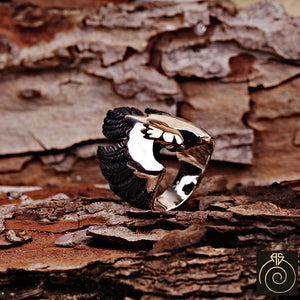 Eagle Silver Men's Ring