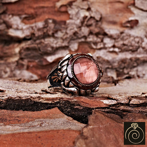 Zultanit Silver Men's Ring