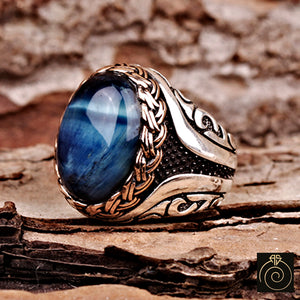 Blue-Tiger-Eye-Men-Ring