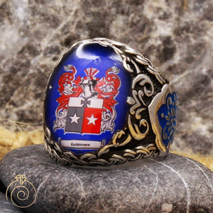 Coat-of-arms-men-silver-ring