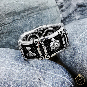 Exclusive Silver Viking Promise Band