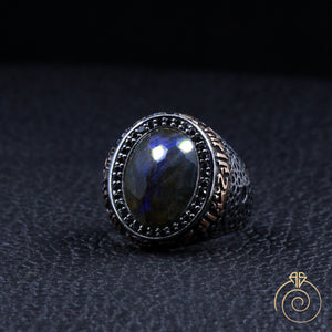 black-diamond-blue-gemstone-ring